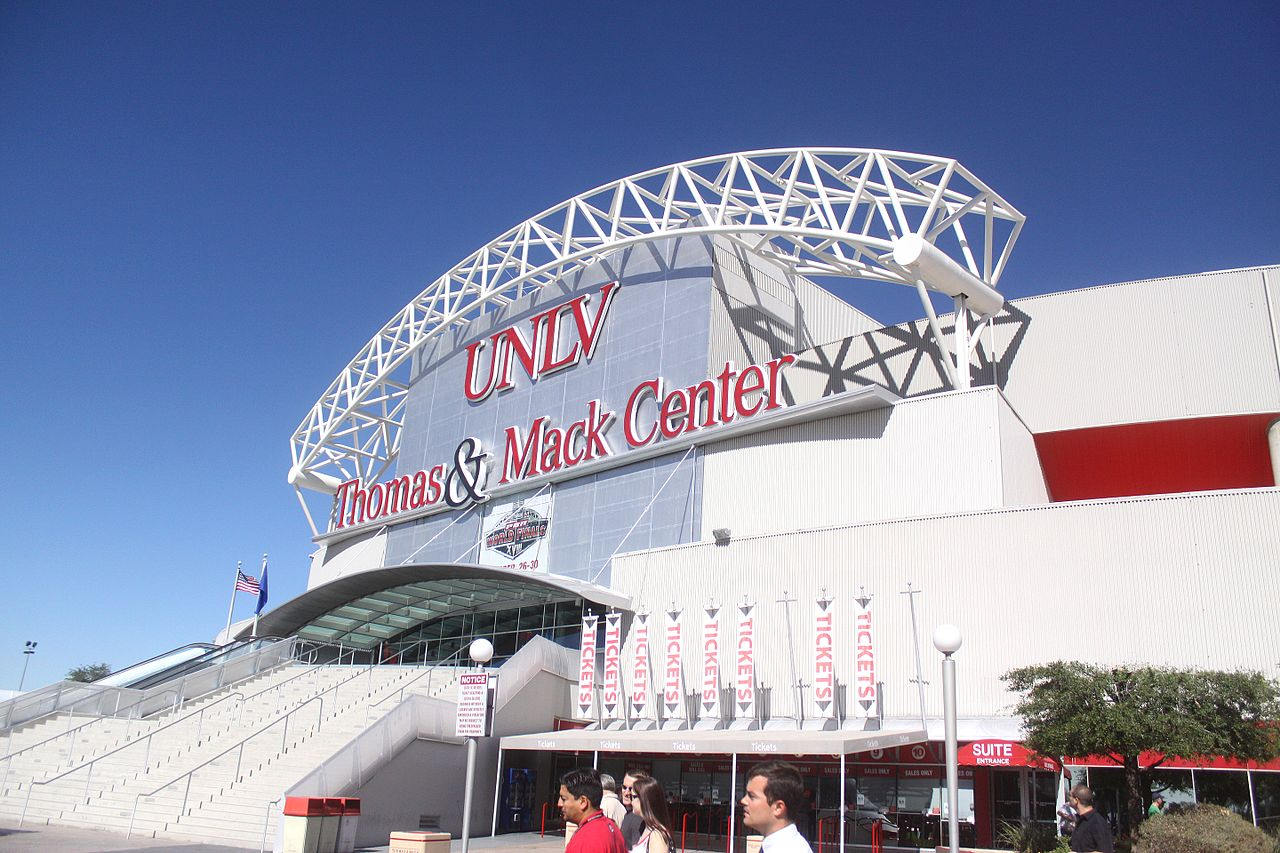 Thomas & Mack Center Fight Night